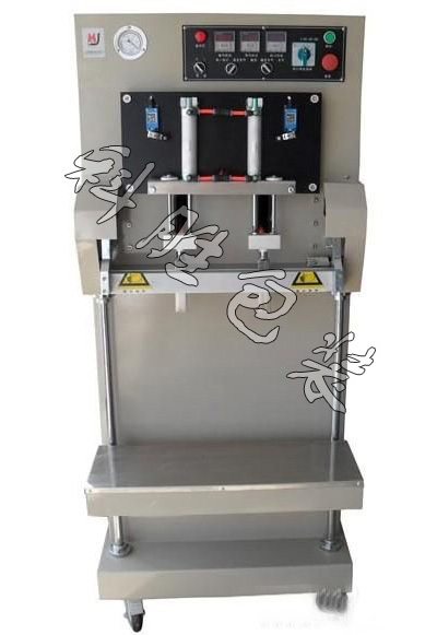 600立式多功能抽气包装机|膨化食品内充气包装机|立式真空机