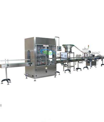 内蒙古植物油灌装生产线|全自动亚麻籽油灌装生产线